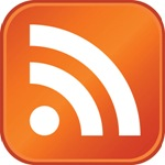 This is the orange RSS icon.