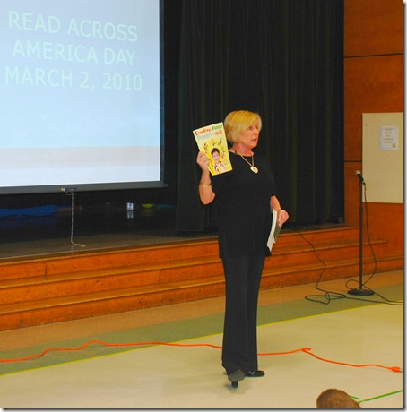 Read Across America Gloson's Book