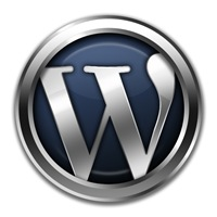 Pretty Awesome 3D Metal WordPress Logo